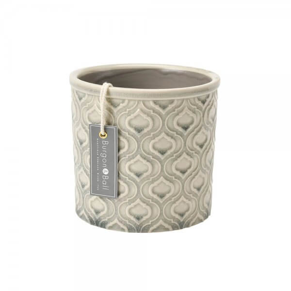 Venetian Grey Small Indoor Ceramic Plant Pot